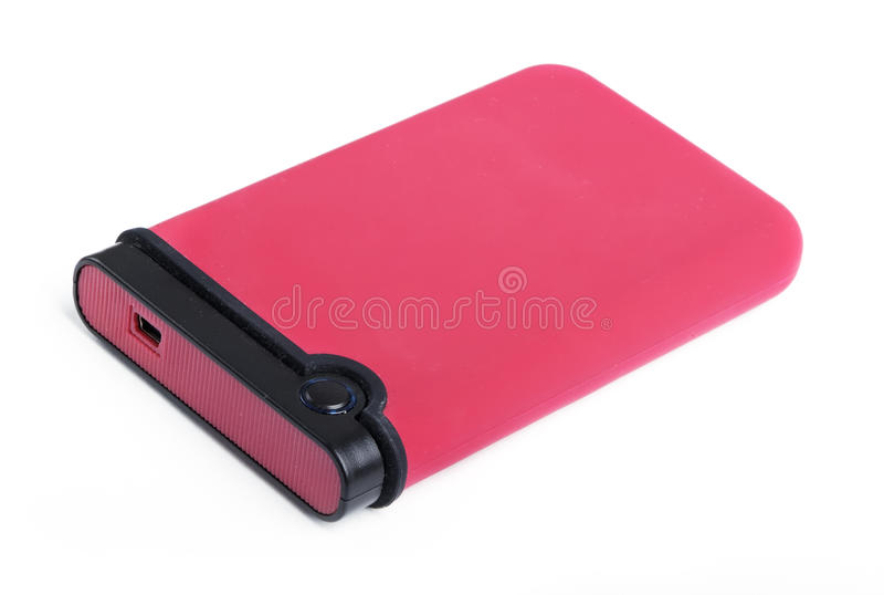 Download External hard disk drive stock image. Image of disk, isolated - 21210725