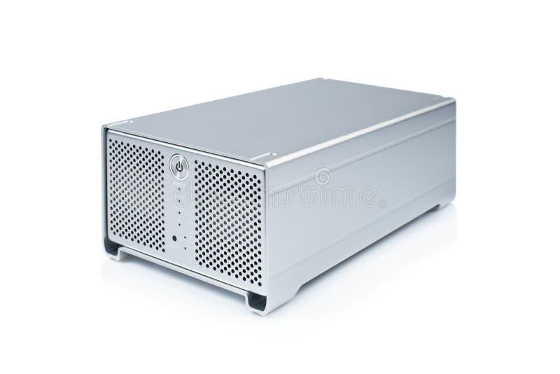 External hard drive stock photo