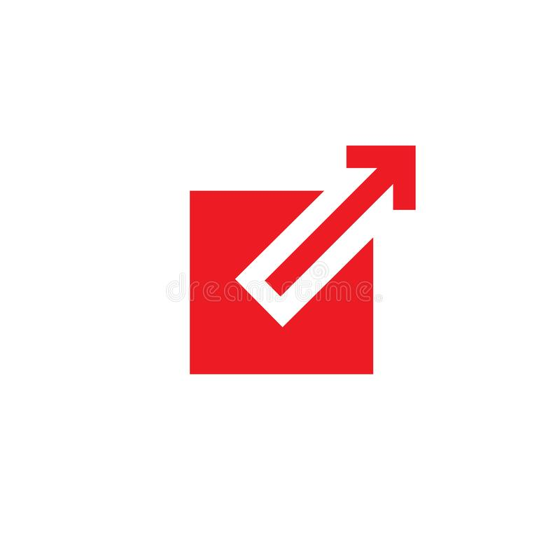 External link icon with box and arrow pointing outward. External link icon - box and arrow pointing outward vector illustration