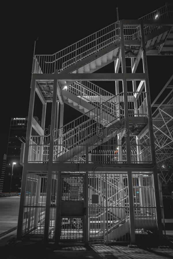 External Stairway At Night Free Public Domain Cc0 Image