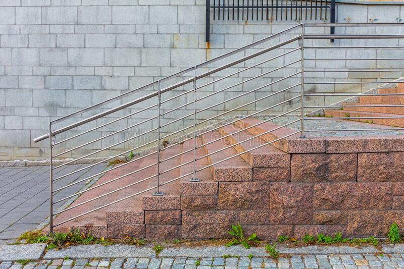 External Stone Stairs stock photos