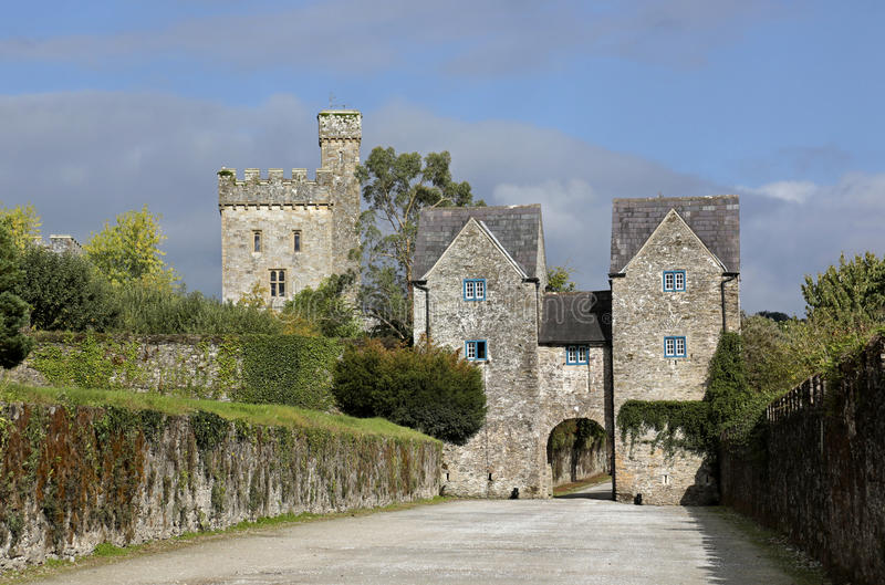 Download External View Of Lismore Castle, Co Waterford, Munster Province, Ireland Editorial Photo - Image: 37779156