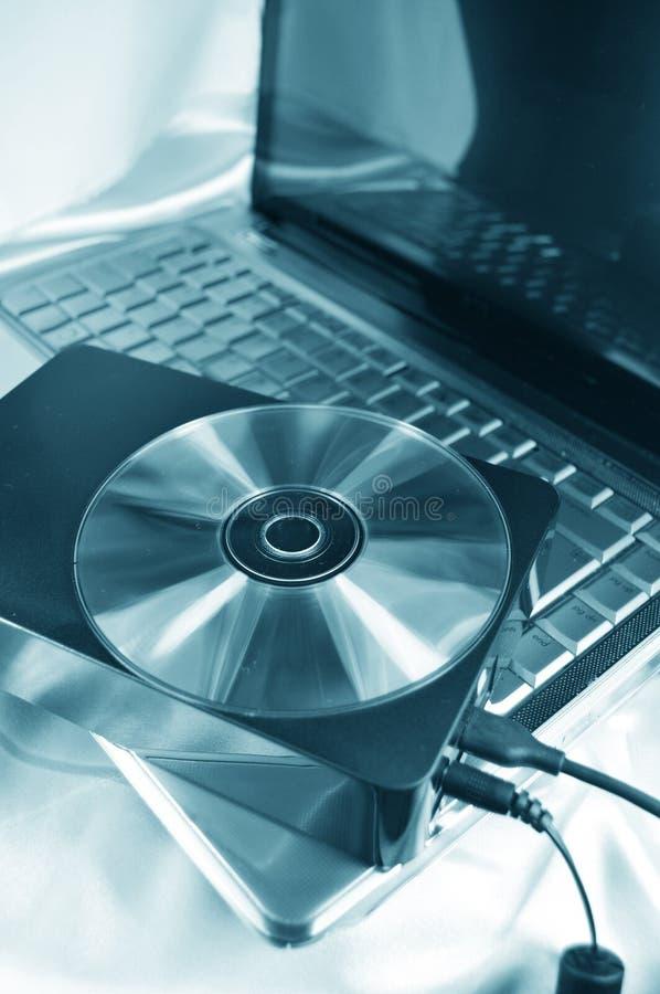 Externes Festplattenlaufwerk lizenzfreie stockfotografie