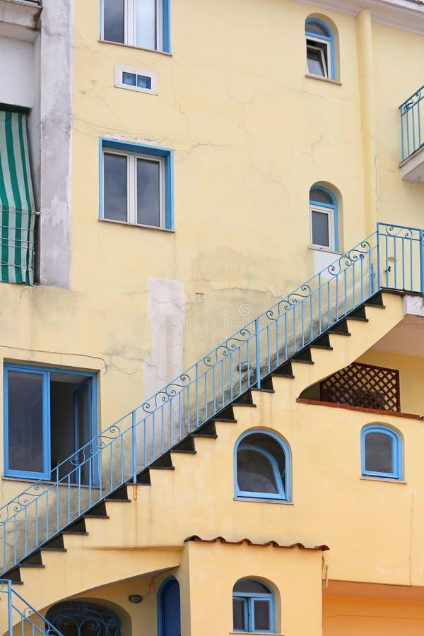 Externes Treppenhaus stockbilder