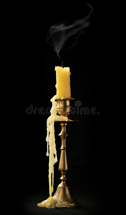 Free Extinct Candle Royalty Free Stock Images - 8707329