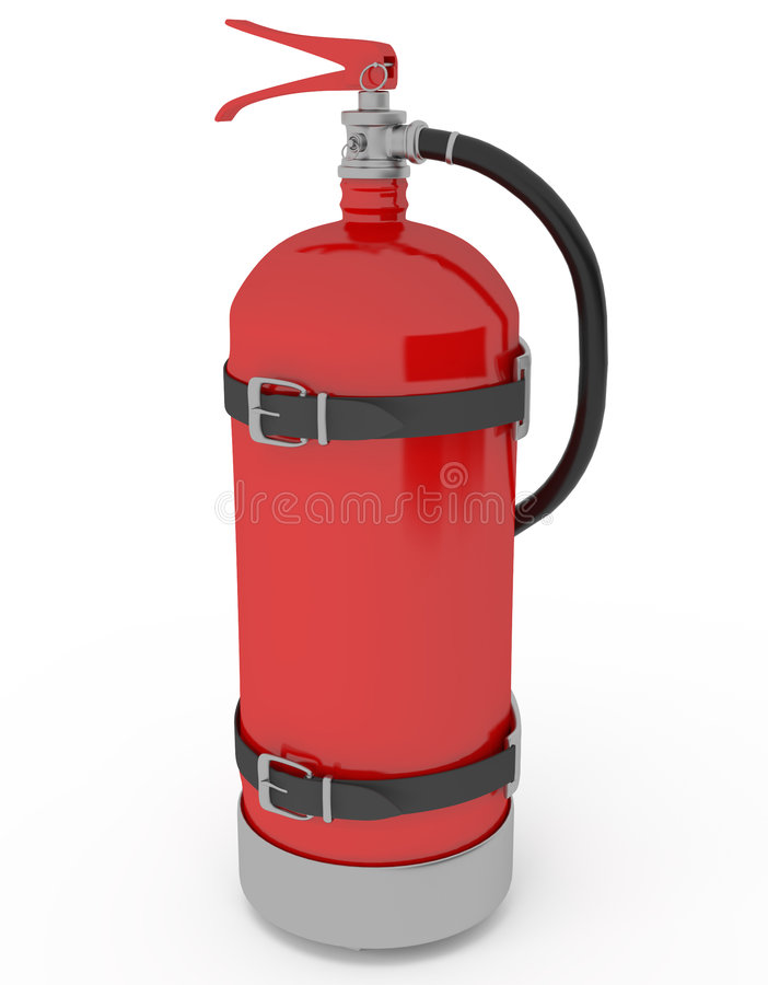 Free Extinguisher Royalty Free Stock Photo - 9310525