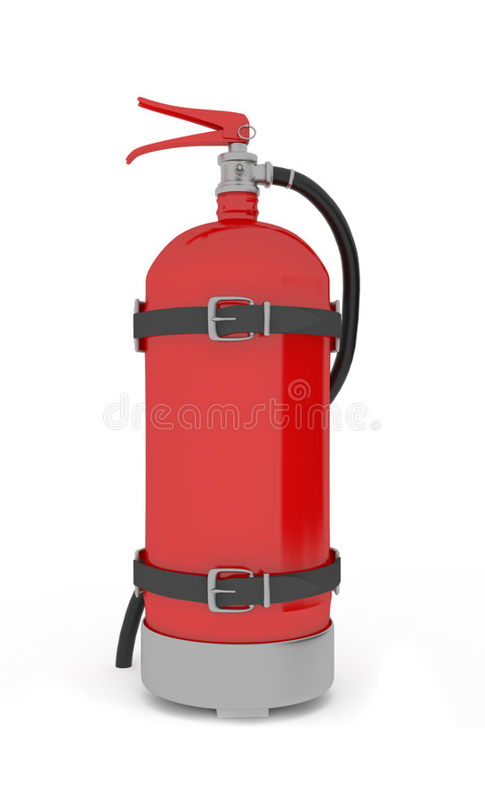 Free Extinguisher Royalty Free Stock Image - 9310526