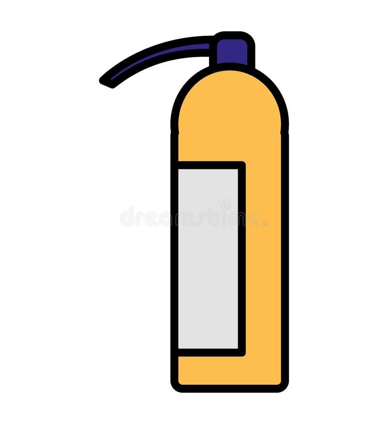 Extinguisher fire equipment icon. Vector illustration design stock illustration