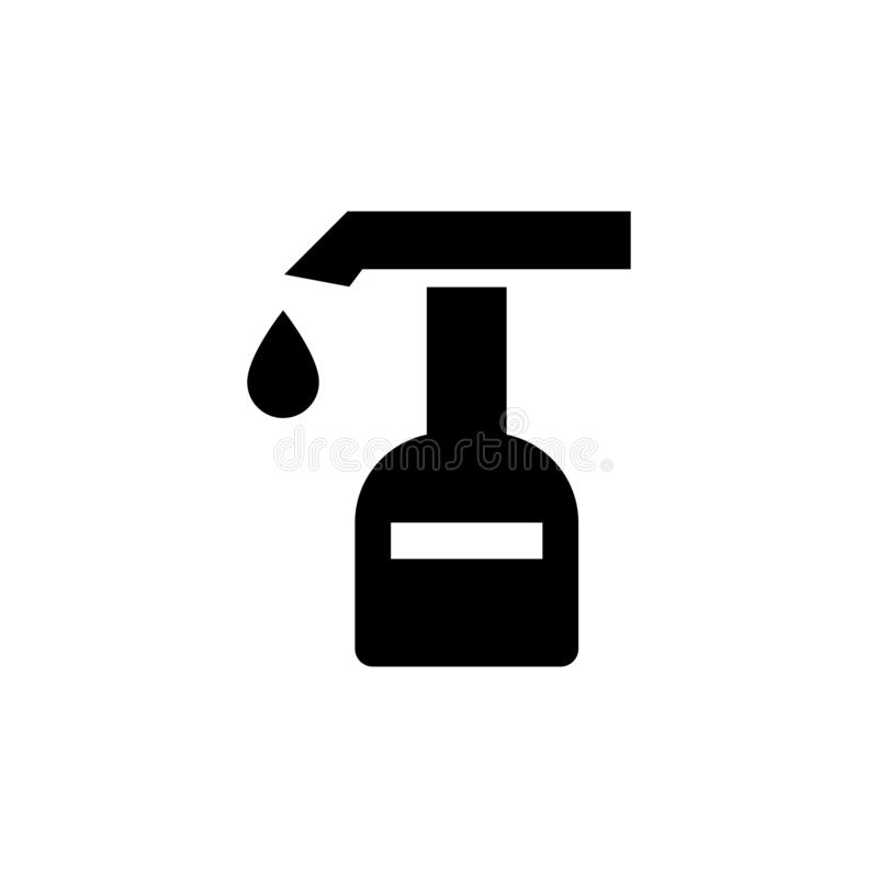 Extinguisher icon. Fire Emergency symbol. Extinguisher, flame, fire, vector, equipment, safety, symbol, emergency, danger, illustration, icon, protection, sign vector illustration