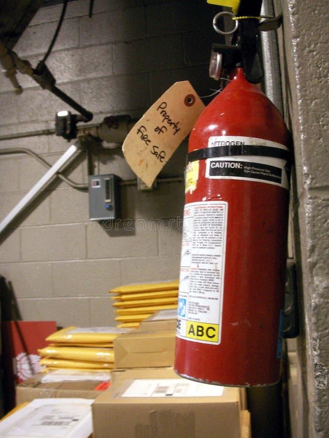 Extintor stock image