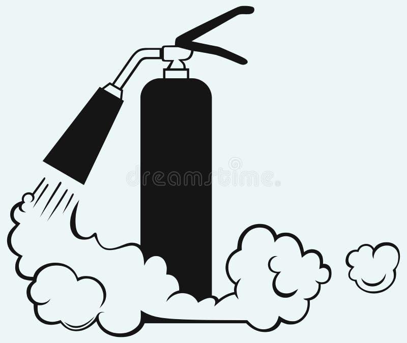 Extintor ilustração royalty free