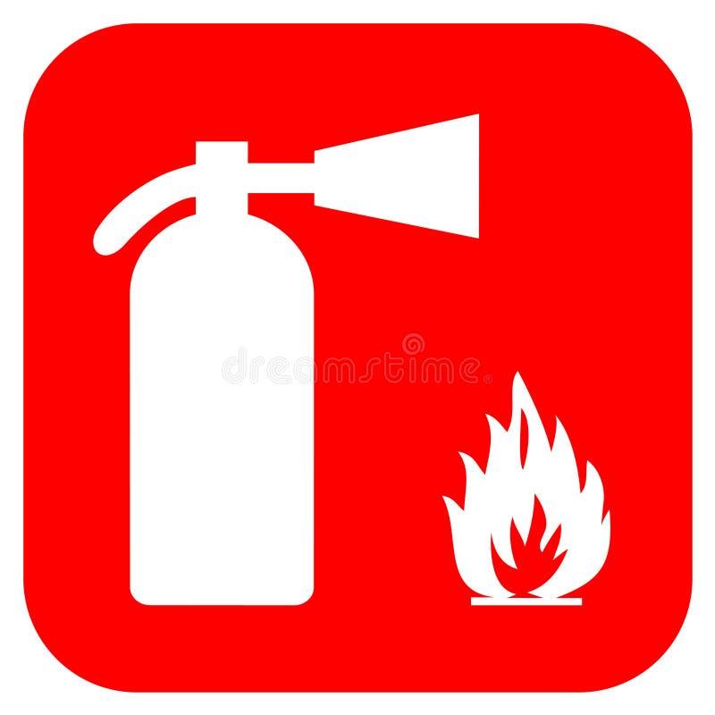 Extintor de incêndio ilustração royalty free