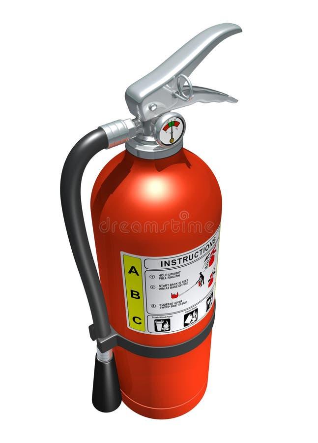 Extintor de incêndio ilustração stock
