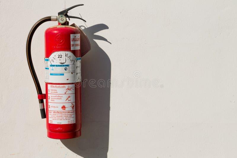 Extintor de incêndio fotografia de stock royalty free