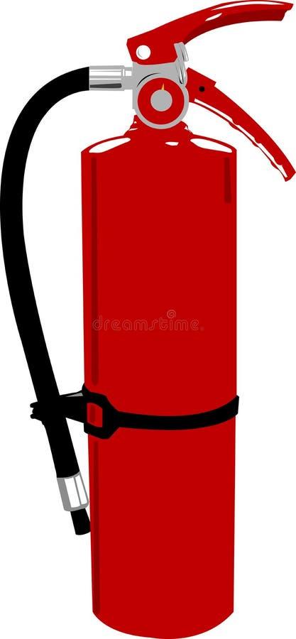 Extintor de incêndio - clipart do vetor ilustração do vetor