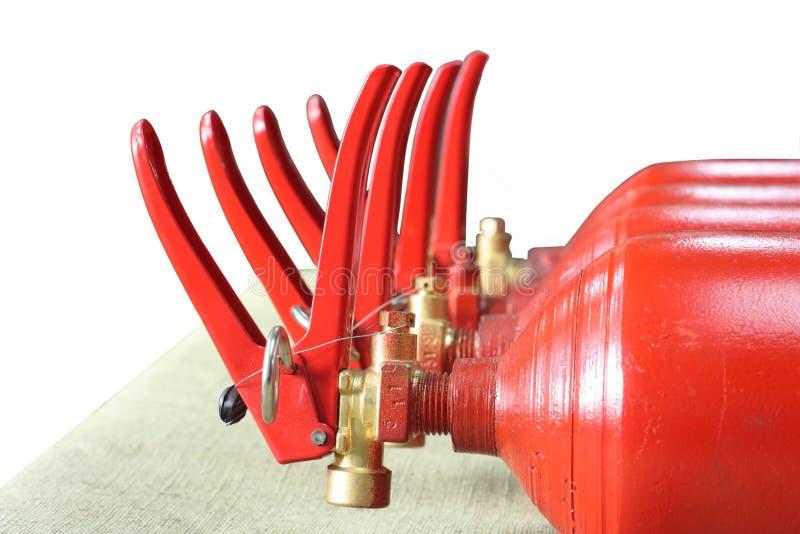 Download Extintores foto de stock. Imagem de extintor, vermelho - 16871698