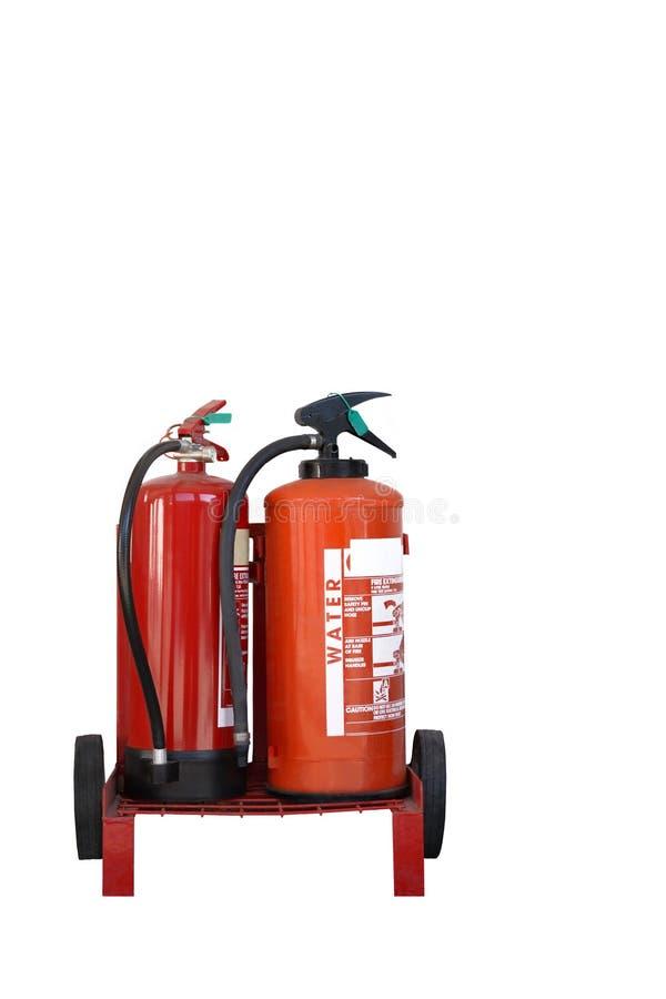 Extintores fotografía de archivo