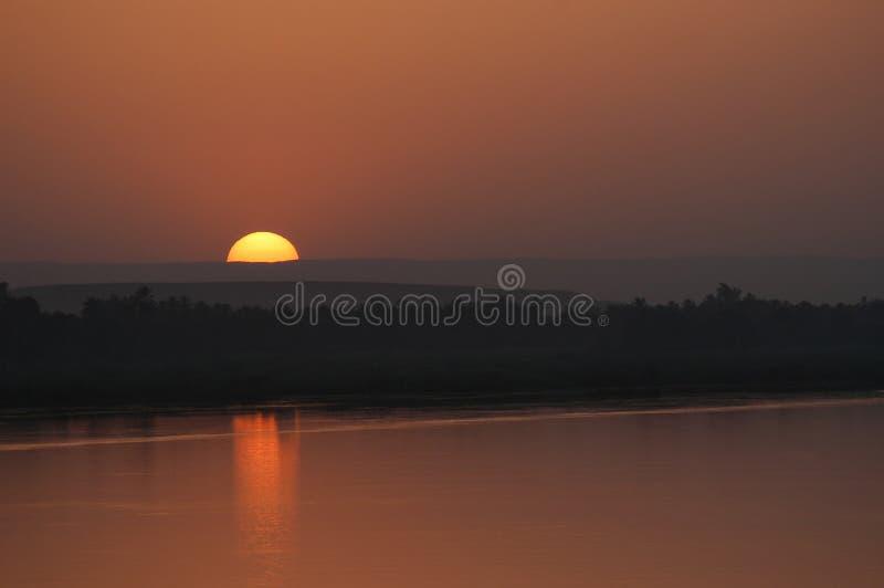 Extrémité de coucher du soleil photographie stock libre de droits