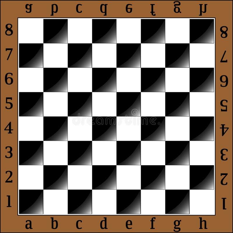 extrémité du compagnon de contrôle de jeu, noir et blanc monochrome avec le point culminant illustration stock