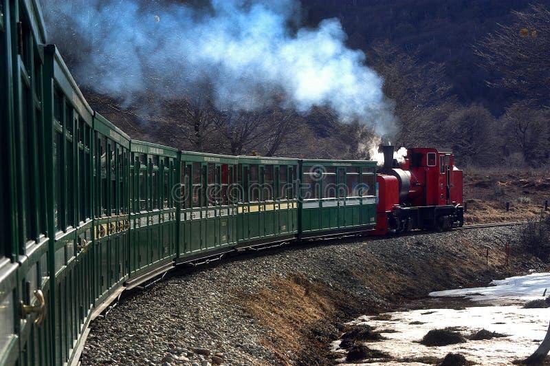 Extrémité du train du monde photos stock
