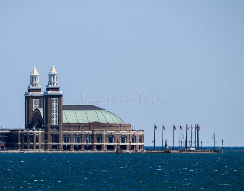 Extrême oriental de pilier de marine image libre de droits