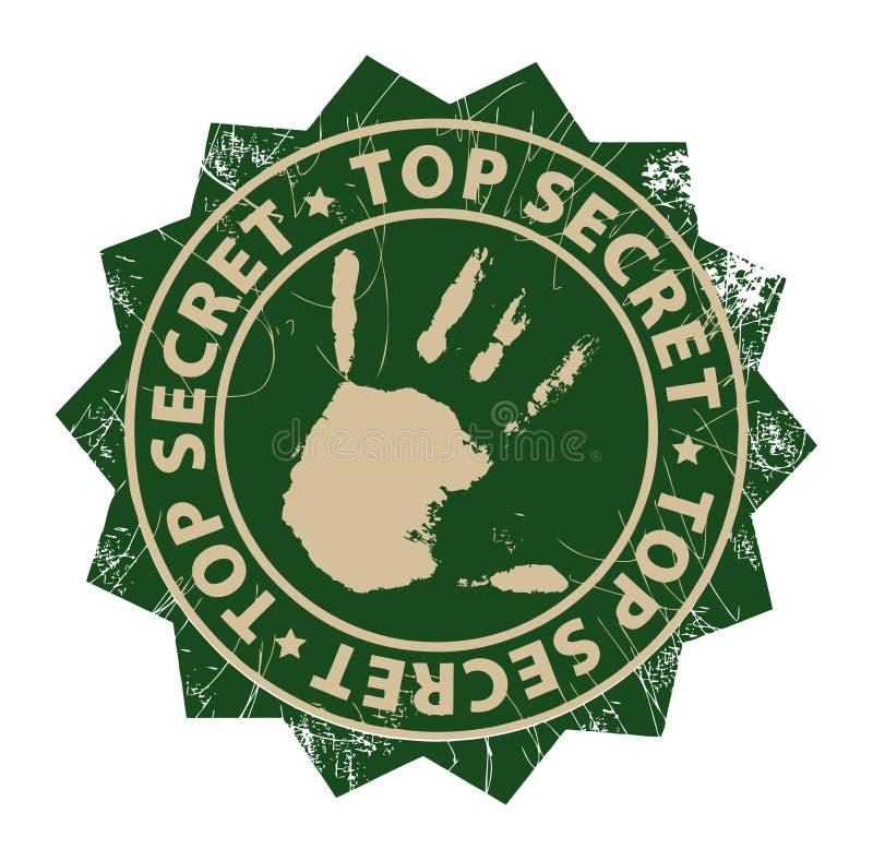 Extrêmement secret illustration libre de droits