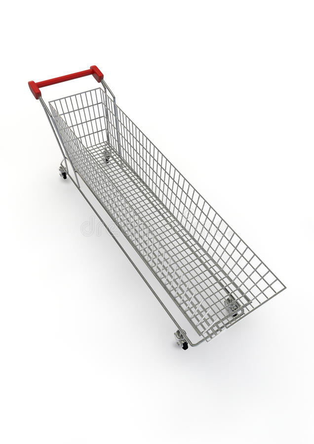 Download Extra Large Shopping Trolley Stock Illustration - Illustration of sale, trolley: 19593172