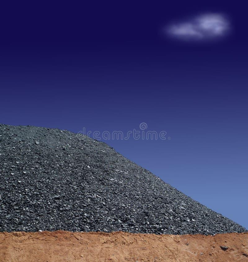 Extracção de carvão 2 fotos de stock