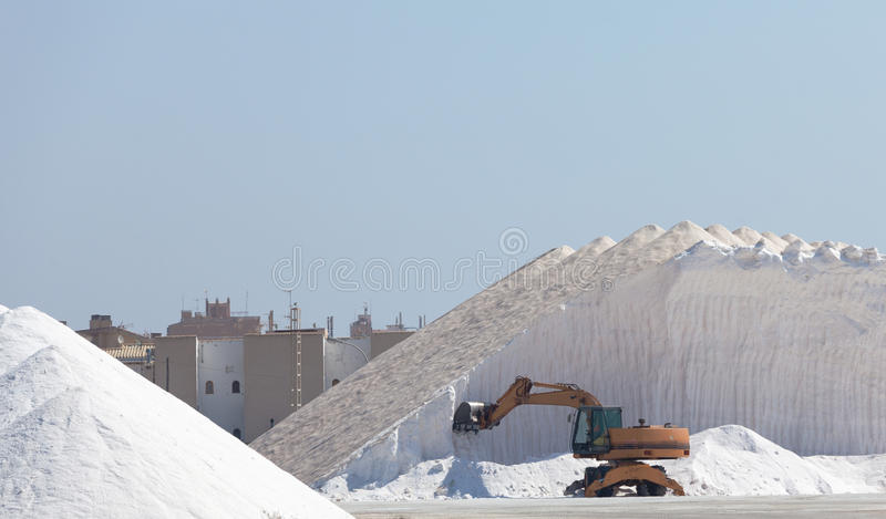 Download Extraction of salt stock image. Image of business, minerals - 26856005