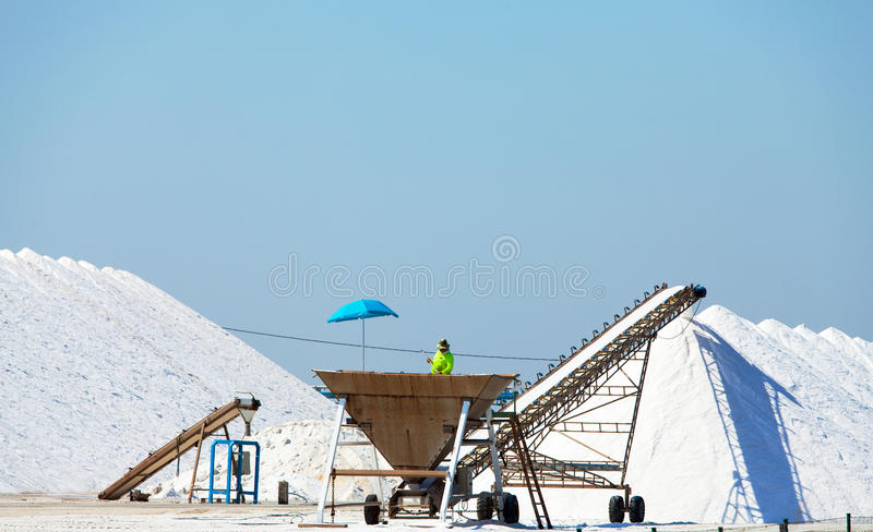 Download Extraction of salt stock image. Image of white, hill - 26856035