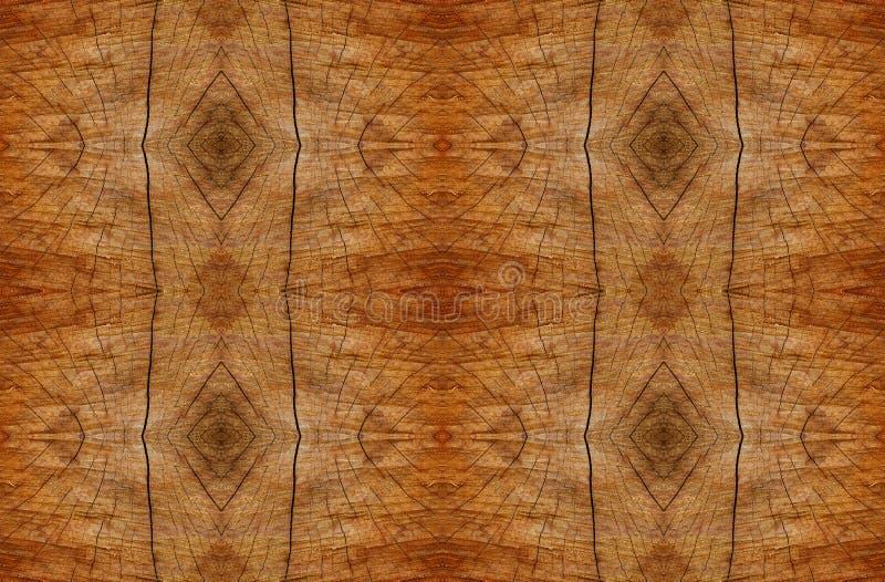 Extracto alineado de madera del modelo imágenes de archivo libres de regalías