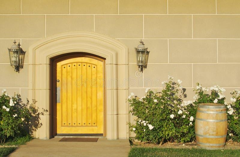 Extracto arquitectónico de puerta imágenes de archivo libres de regalías