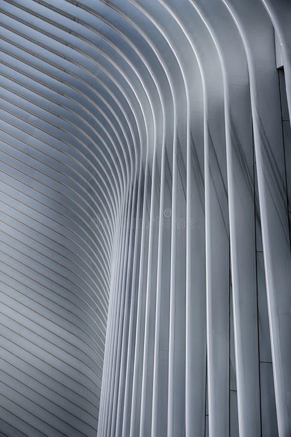 Extracto arquitectónico en New York City foto de archivo libre de regalías