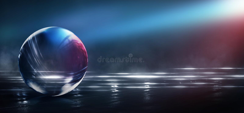 Extracto, arte, astronomía, fondo, bola, negro, azul, brillante, ciudad, color, colorido, colores, cosmos, cristalino, oscuro, di foto de archivo