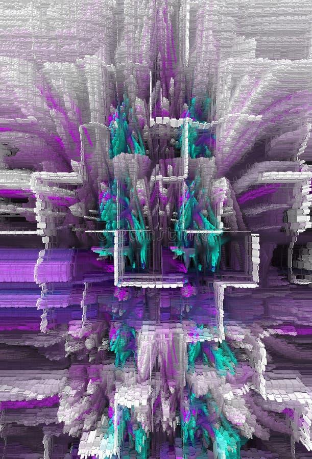 Extracto Arte Pintura gráfico Abstracción cuadro ilustración del vector