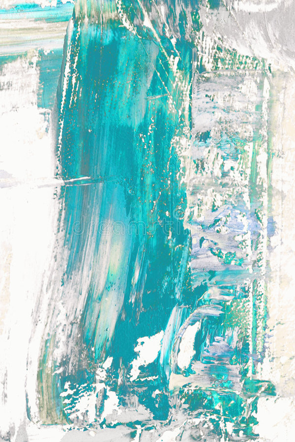 Extracto azul en blanco stock de ilustración