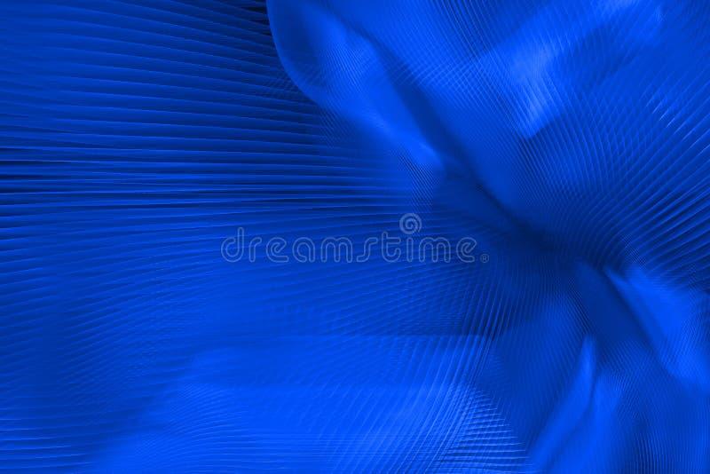 Extracto azul vibrante ilustración del vector