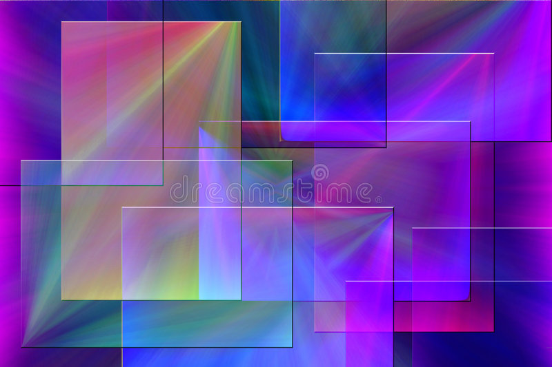 Extracto colorido ilustración del vector