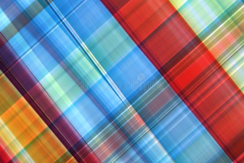 Extracto colorido de la tela escocesa imágenes de archivo libres de regalías