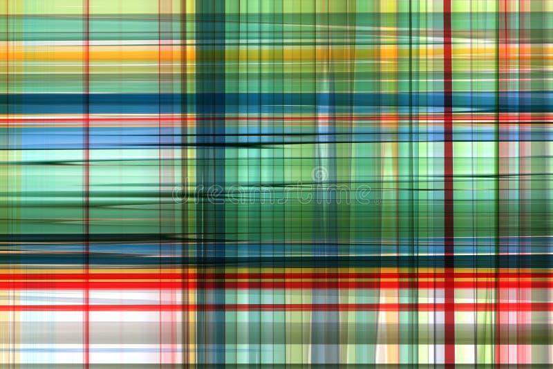 Extracto colorido de la tela escocesa fotografía de archivo libre de regalías