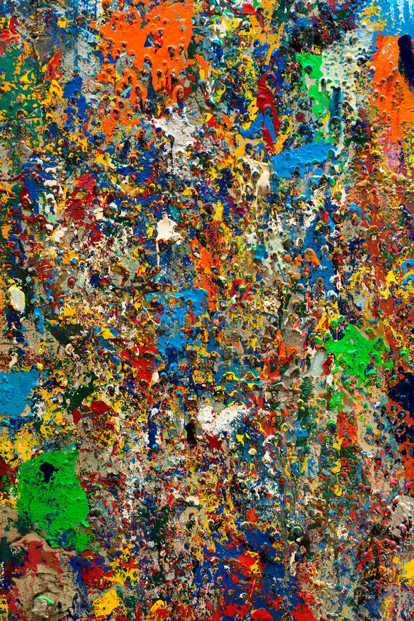 Extracto colorido pintado foto de archivo libre de regalías