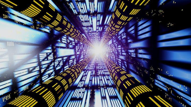 Extracto - conexión de alta velocidad libre illustration