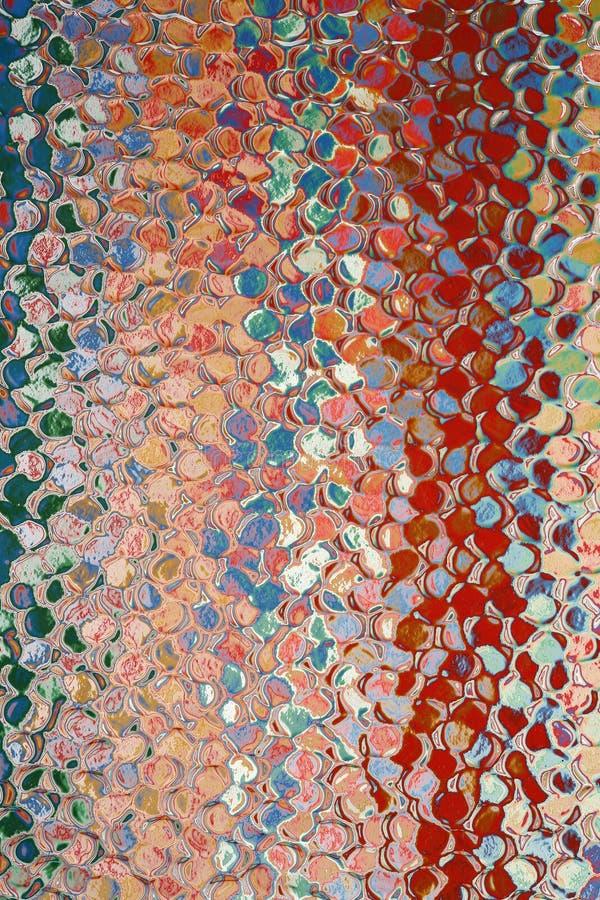 Extracto de cristal irregular fotos de archivo