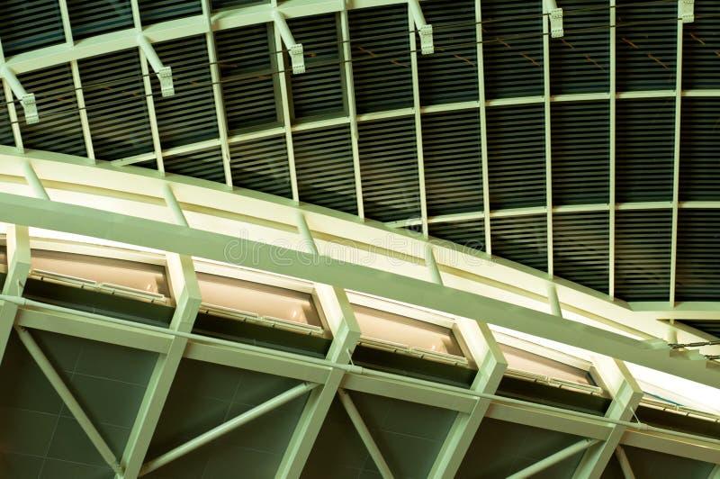 Extracto de la azotea y del techo foto de archivo