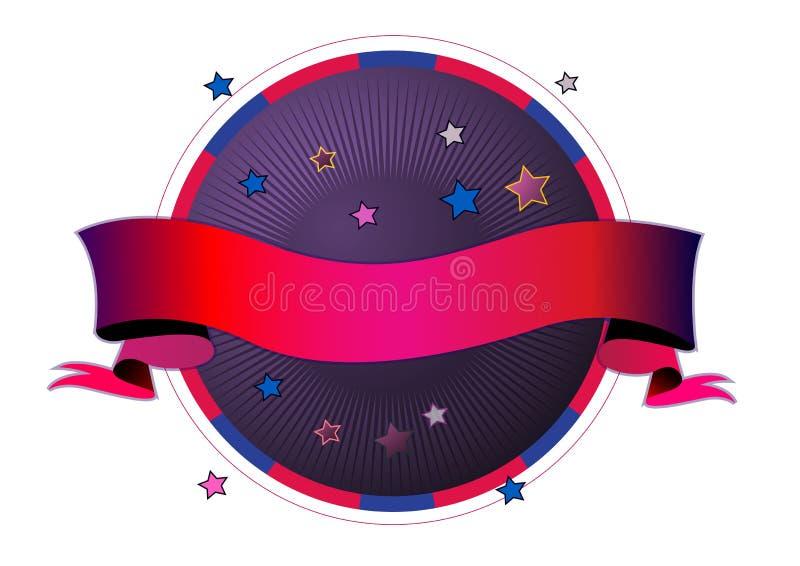 Extracto de la bandera libre illustration