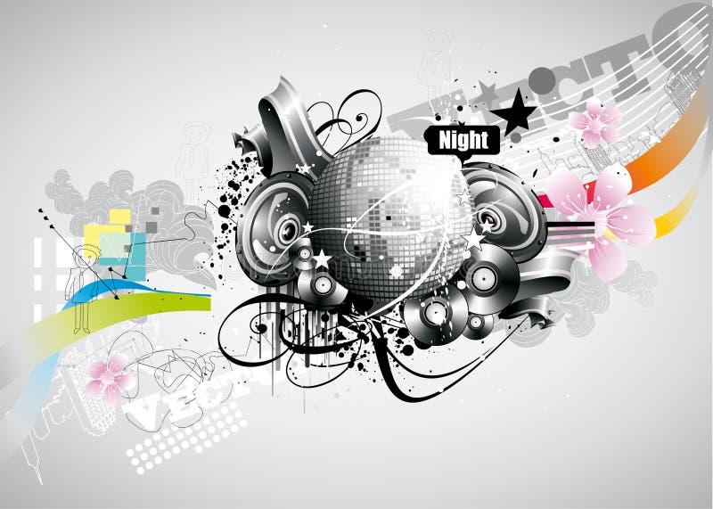 Extracto de la bola del disco libre illustration