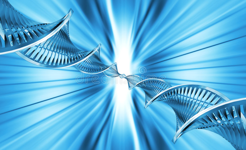 Extracto de la DNA libre illustration