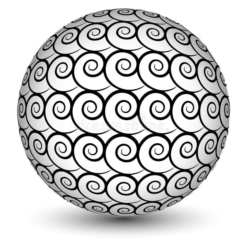 Extracto de la esfera libre illustration