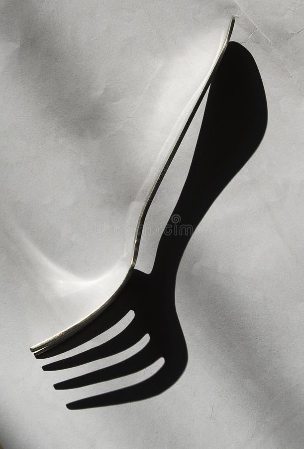 Extracto de la fork fotografía de archivo libre de regalías