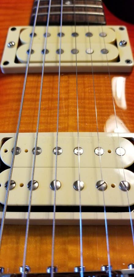Extracto de la guitarra imagen de archivo